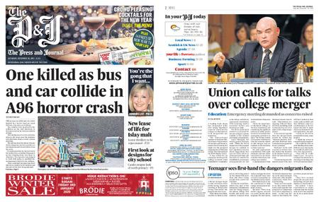The Press and Journal Moray – December 28, 2019
