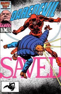 Daredevil 231 (1986) (c2c) (Pyramid