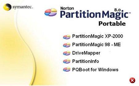 Norton Partition Magic 8.0.5 Portable