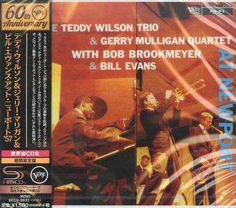 The Teddy Wilson Trio & Gerry Mulligan Quartet & Bill Evans - At Newport (1957) {2016 Japan Verve 60th Rare Albums Series}