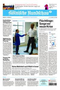 Kölnische Rundschau Wipperfürth/Lindlar – 19. September 2019