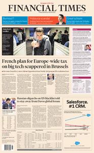 Financial Times Europe – 07 November 2018