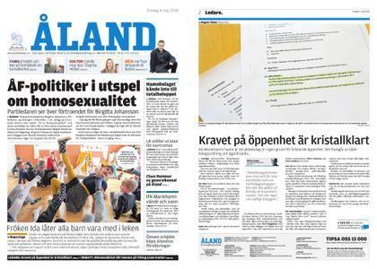 Ålandstidningen – 04 maj 2018