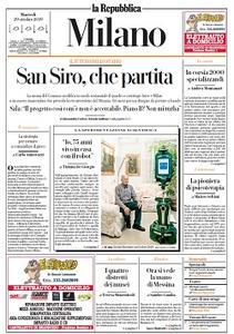 la Repubblica Milano - 29 Ottobre 2019