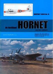 De Havilland Hornet and Sea Hornet (Warpaint Series No.19)