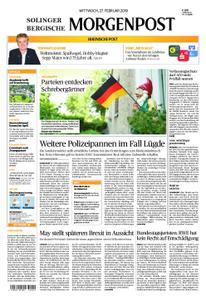 Solinger Morgenpost – 27. Februar 2019