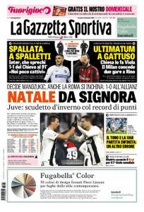 La Gazzetta dello Sport – 23 dicembre 2018