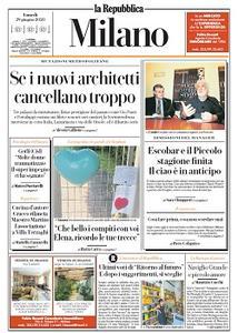 la Repubblica Milano - 29 Giugno 2020