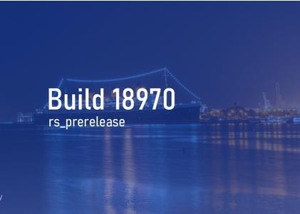 Windows 10 Insider Preview (20H1) Build 18970.1001