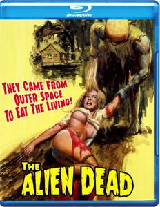 The Alien Dead (1980) + Extras [w/Commentary]