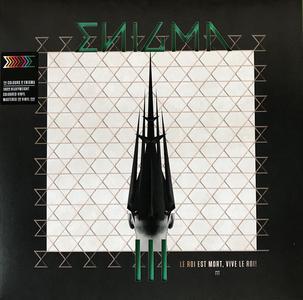 Enigma - The Colours Of Enigma – III: Le Roi Est Mort, Vive Le Roi! (2018) [Limited Edition, 180 Gram LP, DSD128]