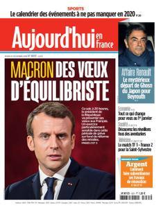 Aujourd'hui en France - 31 Décembre 2019
