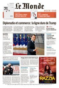 Le Monde du Samedi 24 Mars 2018