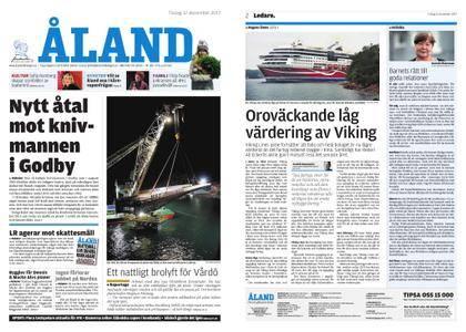 Ålandstidningen – 12 december 2017