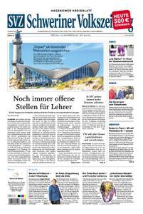 Schweriner Volkszeitung Hagenower Kreisblatt - 19. Oktober 2018