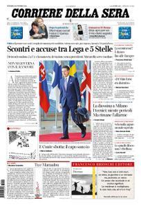 Corriere della Sera – 19 ottobre 2018