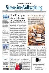 Schweriner Volkszeitung Hagenower Kreisblatt - 13. Dezember 2017