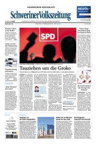 Schweriner Volkszeitung Hagenower Kreisblatt - 09. Februar 2018