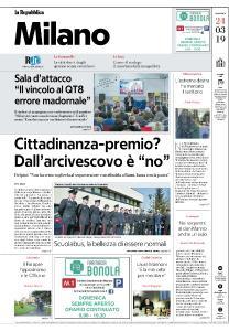 la Repubblica Milano - 24 Marzo 2019