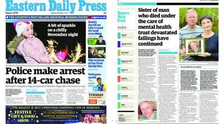 Eastern Daily Press – November 06, 2017