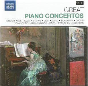 VA - Naxos 25th Anniversary: Great Piano Concertos (2012) (10 CD Box Set)