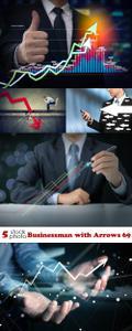 Photos - Businessman with Arrows 69