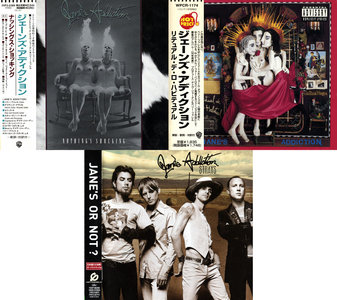 Jane's Addiction - Albums Collection 1988-2003 (3CD) Japanese Releases [Re-Up]