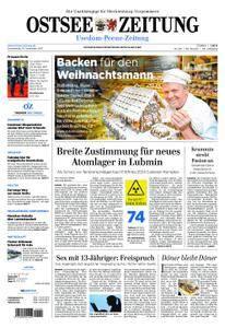 Ostsee Zeitung Wolgast - 14. Dezember 2017