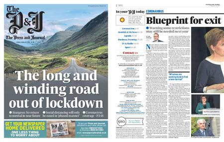The Press and Journal Moray – April 24, 2020