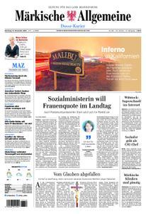 Märkische Allgemeine Dosse Kurier - 13. November 2018