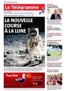 Le Télégramme Châteaulin – 19 juillet 2019
