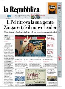 la Repubblica - 4 Marzo 2019