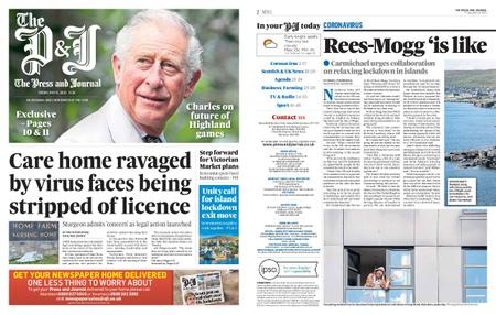 The Press and Journal Moray – May 15, 2020