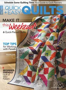 McCall's Quick Quilts – February 2021