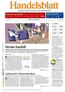 Handelsblatt - 15. August 2016