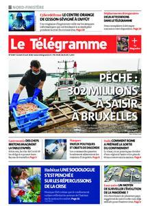 Le Télégramme Brest Abers Iroise – 25 avril 2020
