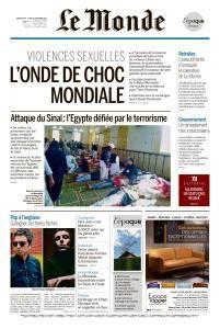 Le Monde du Dimanche 26 et Lundi 27 Novembre 2017