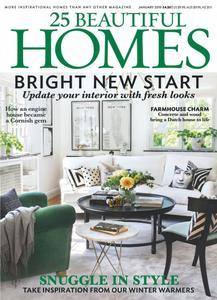 25 Beautiful Homes - January 2019