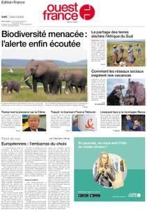 Ouest-France Édition France – 07 mai 2019