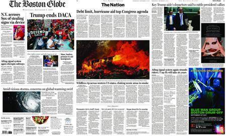 The Boston Globe – September 06, 2017