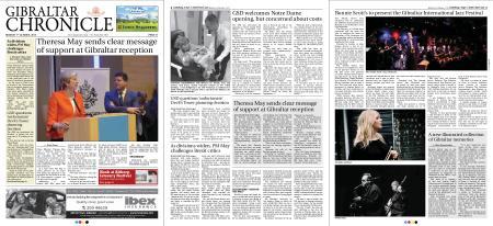 Gibraltar Chronicle – 01 October 2018