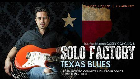 Solo Factory Texas Blues with Corey Congilio [repost]