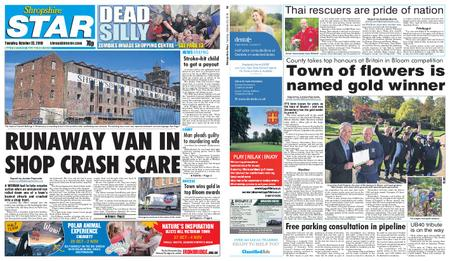 Shropshire Star Shrewsbury Edition – October 23, 2018