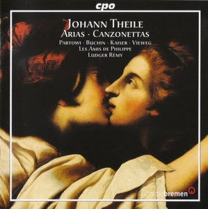 Johann Theile - Secular Arias & Canzonettas 1667 - Les Amis de Philippe