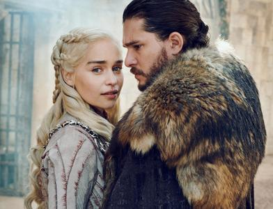 Game of Thrones season 8 cast members by Marc Hom for Entertainment Weekly March 15/22, 2019