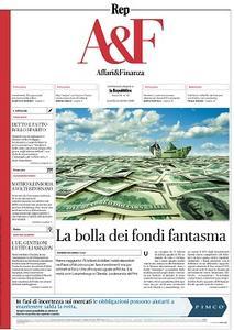 la Repubblica Affari & Finanza - 14 Ottobre 2019