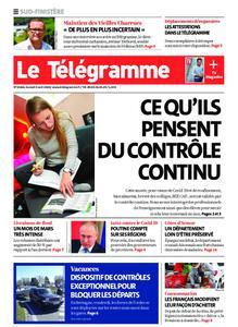 Le Télégramme Quimper – 04 avril 2020