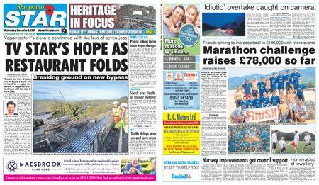 Shropshire Star Shrewsbury Edition – November 08, 2017