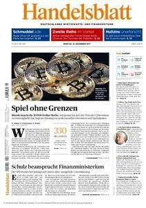 Handelsblatt - 18. Dezember 2017