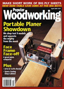 Popular Woodworking Magazine Issue 121